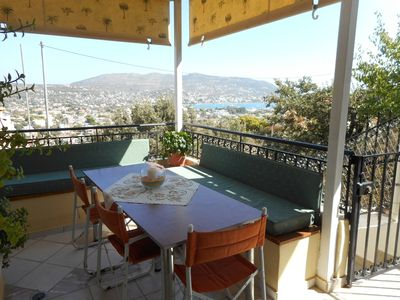 Photo for Port Rafti - 2 Bedroom House with Seaview