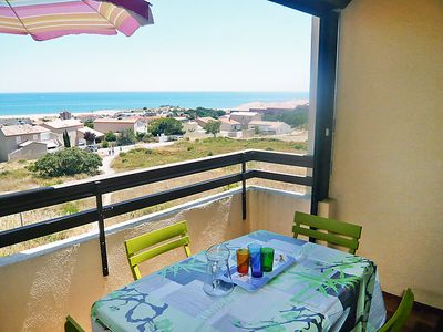 Photo for Apartment Les Eaux Vives 1 & 2 in Saint Pierre La Mer - 4 persons, 1 bedrooms