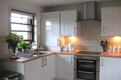 Your well-equipped kitchen, containing everything you'll need for your stay