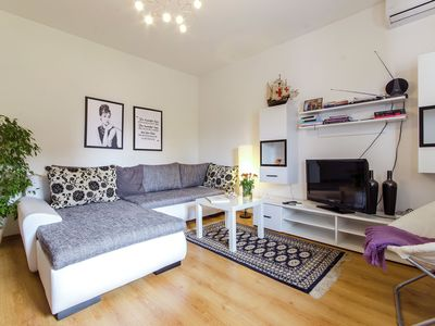 Photo for Cozy apartment in a quiet residential area 1.5 kilometers away from the old town