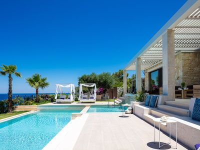 Photo for Miraida Exclusive Residence, Private Heated Pool, BBQ, Playground & Close to Sea
