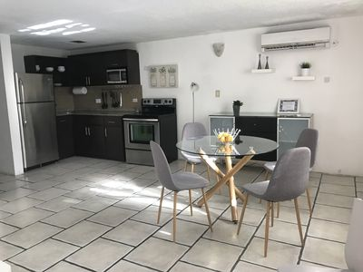 Open space dinning area, kitchen, and livingroom