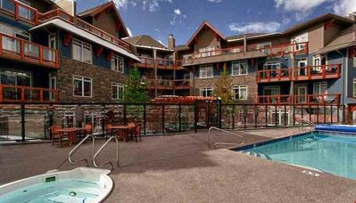 Photo for Luxury Mountain Escape with a Private Balcony | Access to 2 Hot Tubs and Pool