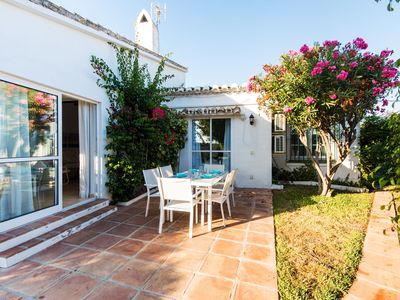 Photo for Beautiful Villa Ana Close to Beach with Pool, Terrace, Garden, Wi-Fi & Air Conditioning; Parking Spaces Available, 3-Minute Drive From Cala de Mijas