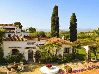 Photo for Luxury traditional Spanish finca near Marbella £75 per night for 20 guests