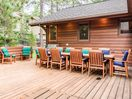 Outdoor Dining - Seating for 10 at this outdoor dining table.