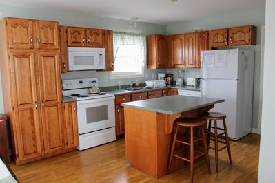 Well equipped, fully applianced kitchen