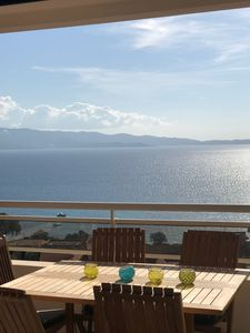 Photo for Stunning duplex apartment by the sea with beautiful views at 7 mnde the beach