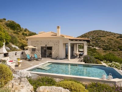Photo for Top Pick: Villa Eros -- Lux 5-Star Couples Only villa in Old Skala, Kefalonia