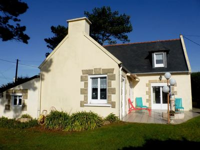 Photo for TRESTEL, near PERROS-GUIREC, big family home, BEACHES 200m with FOOT.