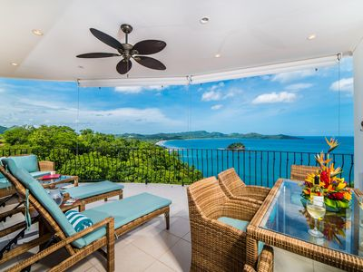 Photo for Dramatic Ocean Views, 2 Master Bedrooms, 2 Balconies, 2 Pools