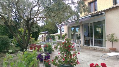 Photo for Provencal cedar 3000 m² property with pull-out pool