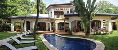 Photo for Special Fall Rate! Largest Luxury Beachfront Villa in the heart of Tamarindo Bay