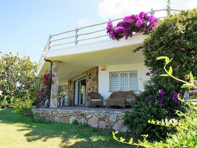 Photo for Beautiful villa with a unique sea view - only 150m to the beach