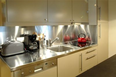 Kitchen of the 2 bedroom
