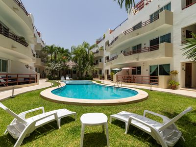 Photo for 2 BDRM condo close to the beach for 5 - Pool - Parking