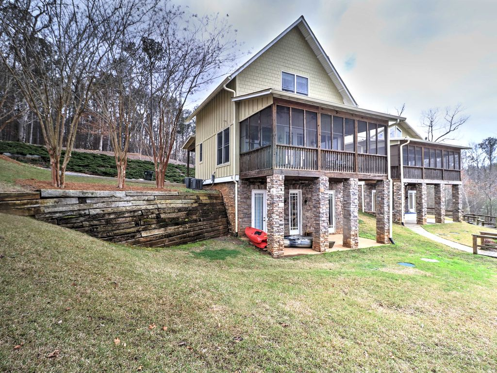 New 3br Dadeville The Martin Lake House W Wifi
