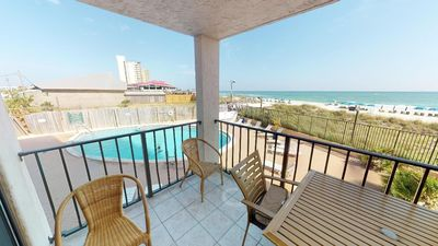Photo for Beach Front 2nd floor 2 bdrm 2bth beautiful view (Sleeps 8)
