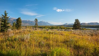 Photo for Luxury cabin with Snake River View in Wilson