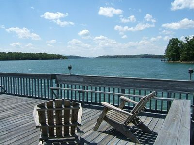 Photo for Lovely Mountain Lakefront Vacation Home with Wonderful Views!