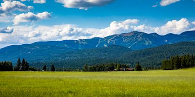 Photo for Perfect Whitefish Get-away!!!  All new furniture - AC -  incredible views and open space next door