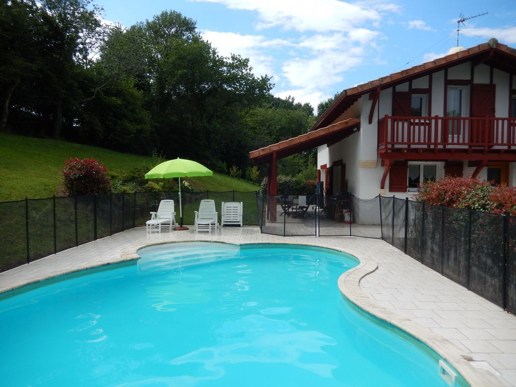 Lovely Property Image#3 Basque Villa Biarritz Area With Private Pool