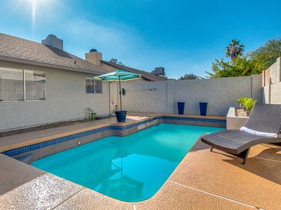 Photo for Stylish Single Family Home, Short Walk to Kierland, Private Pool, 5Bed