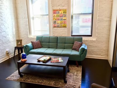 Photo for Chicago - Perfect Pilsen Pad On The Pink Line!