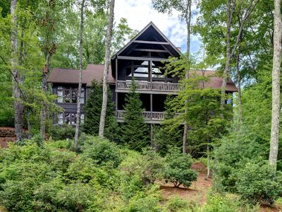Photo for Almost Heaven. Spacious Private Home in Old Edwards Club Highlands, NC