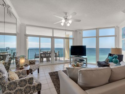 Photo for Must See!! 2 K Mstrs +2 Q Bdrm~Beach Front~Awesome Views