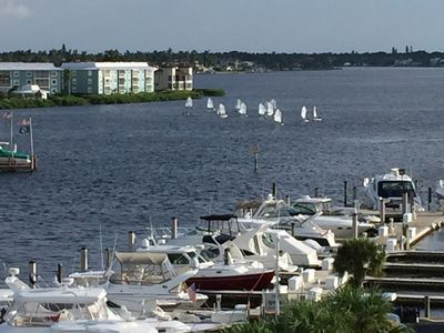 Photo for Spectacular Olde Naples waterfront views down Naples Bay!!!