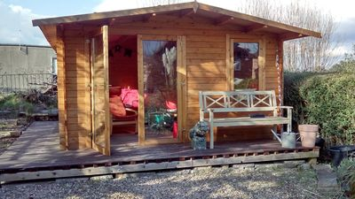Photo for Beautiful log cabin at Market Bosworth