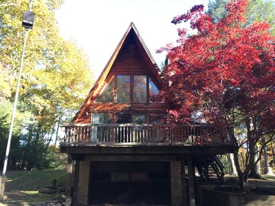 Photo for Modernized A-Frame Chalet in the Heart of the Hudson Valley