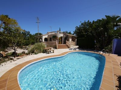 Photo for (Text automatically translated) A beautiful villa in Denia residential area 2km plages.Maison garden