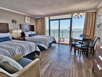 Photo for Perfect Family Fun at this Ocean Front Condo