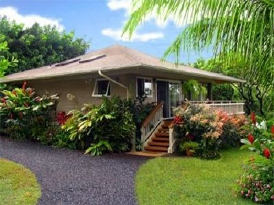Hookipa Bayview...unique, architectural Polynesian Pole home w/outstanding view.