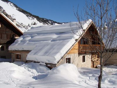 Photo for THE SNOWBOARD 1 NEVACHE VALLEY OF THE CLAREE - Apartment in house Nevache