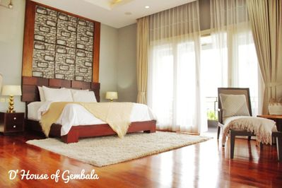 Main bedroom - extra large with amazing views