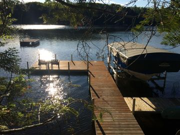 Secluded Lake Cabin on  20 acres, Screen Porch, Shingobee Bay Leech, near Walker