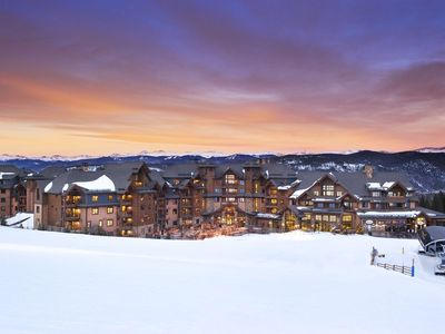 Photo for Ski In/Ski Out  2 bdrm Sleeps 8 March 22 - March 29, 2020 Grand Lodge on Peak 7