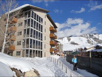 Photo for Unique & Beautiful - Ski-In One Bedroom Condo With Easy Access To Slopes