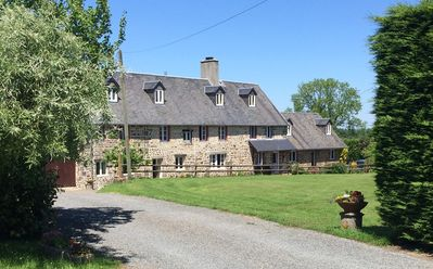 Photo for Large countryside cottage with shared heated pool.  Free WIFI, ferry discounts
