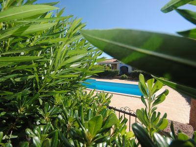 Photo for VILLA WITH VERANDA FRONT POOL TWO STEPS FROM THE SEA