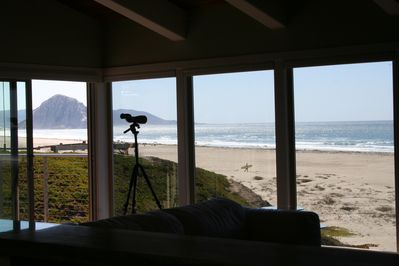 Unobstructed views of Morro Rock and beach