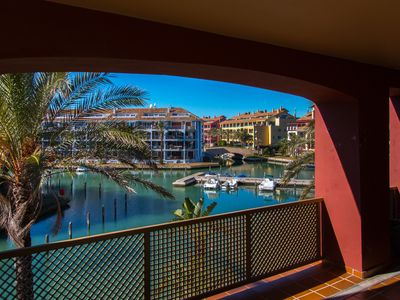 Photo for Charming apartment / Beautiful apartment in the Port of Sotogrande