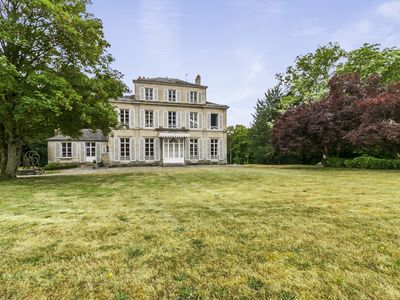 Photo for 4 bedroom Chateau, sleeps 8 with FREE WiFi