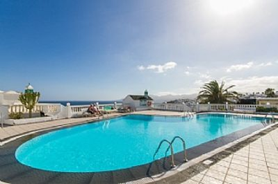 Photo for Exceptionally large 2 bed, 2 bath apartment with private balcony and sea view.