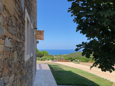 Photo for Secluded house near the sea between Alghero and Stintino with swimming pool