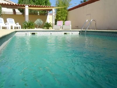 Photo for Palm Villa, Detached With Private Pool And Only 5 Miles To The Beach
