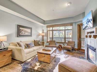 Photo for Wonderfully updated 1 bedroom Sundial condo, ski in/ski out at Canyons Village